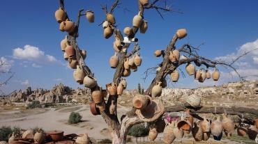 Pottery tree Gözleme, Cappadocia