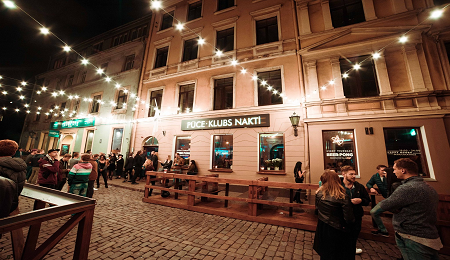 Nightlife in Riga